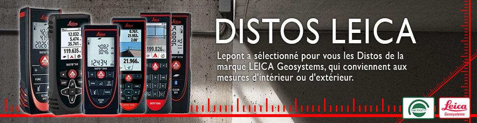 Retrouvez tous les distos Leica sélectionnés par Lepont pour vous !
