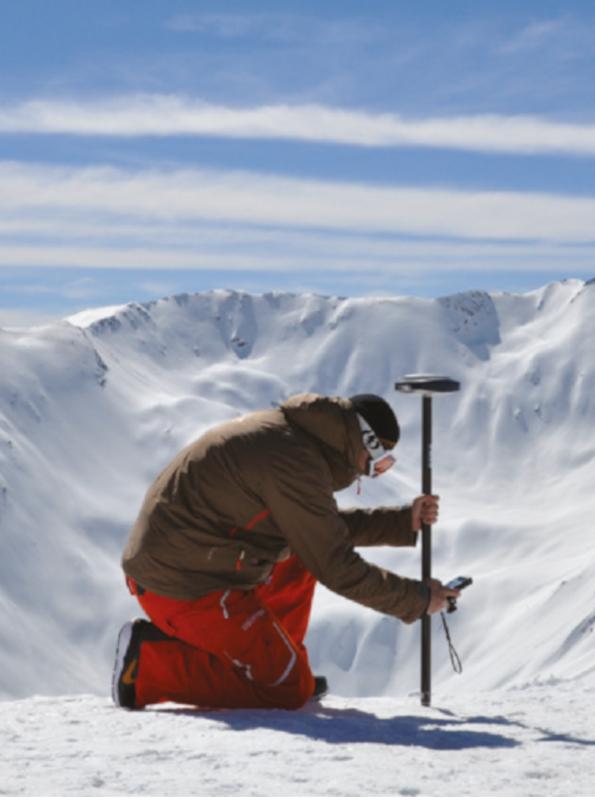Utilisation du Spectra SP80 en montagne