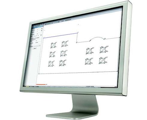 logiciel spectra layout pro en situation