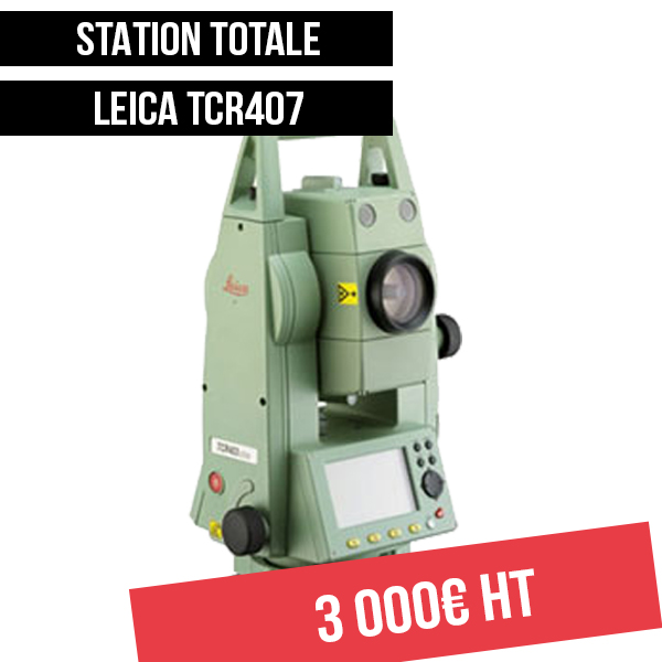 Leica tcr407 Déstockage