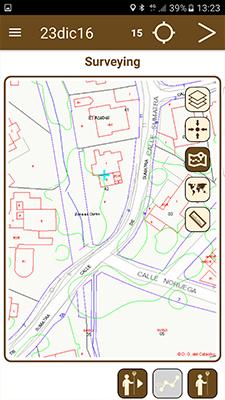 Cartographie sur un mobile avec le logiciel complet TcpGps d'Aplitop