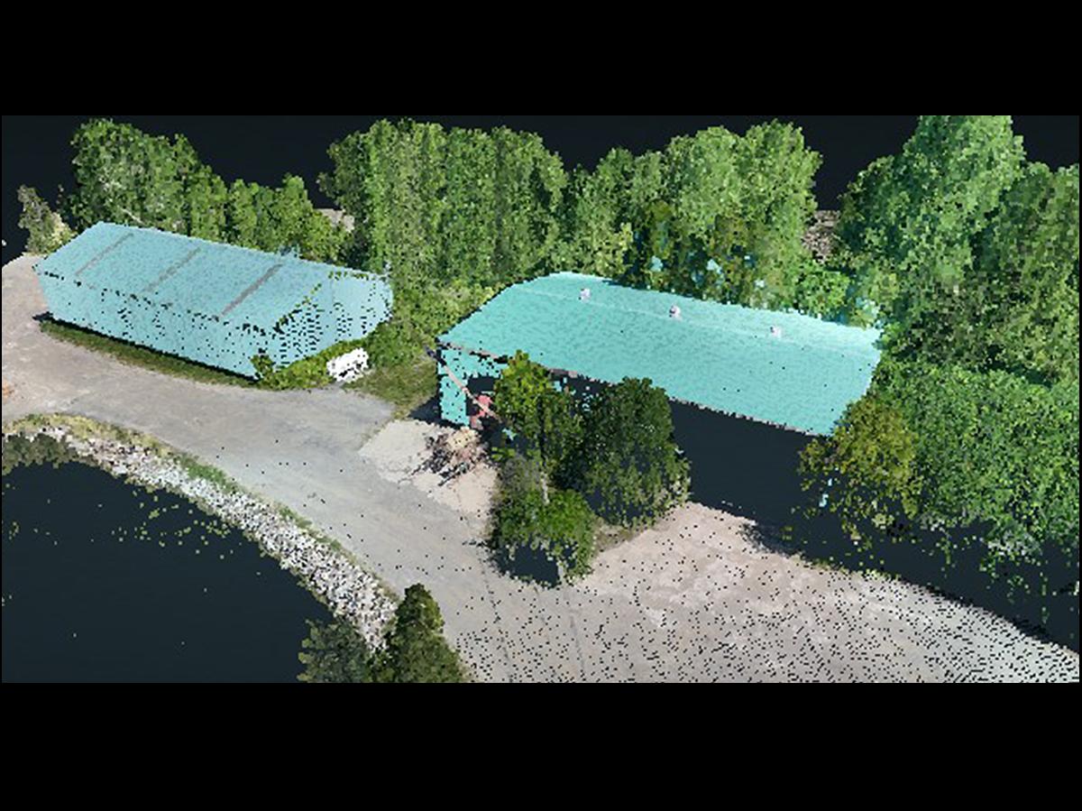 Drone LiDAR md3000