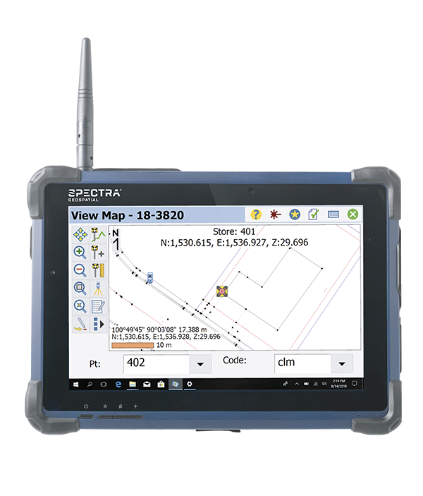Tablette ST10 Spectra Geospatial