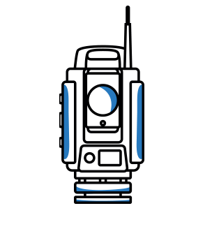 Station totale robotisée Spectra Geospatia